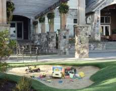 Arbor & Play Area