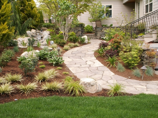 Stone Work and Plantings 3