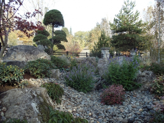 Stone Work and Plantings 9